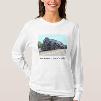 Baldwin-の読書鉄道機関車2124のTシャツ Tシャツ