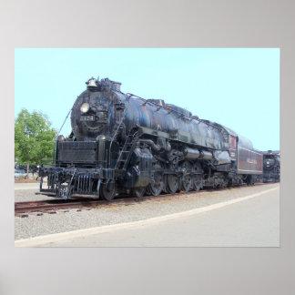 Baldwin-の読書鉄道機関車2124 ポスター