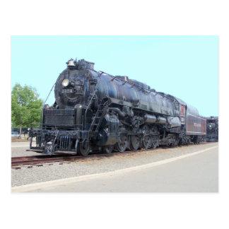 Baldwin-の読書鉄道機関車2124 ポストカード