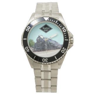 Baldwin-の読書鉄道機関車2124 腕時計