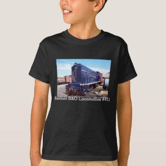 Baldwin B&O機関車#412 Tシャツ