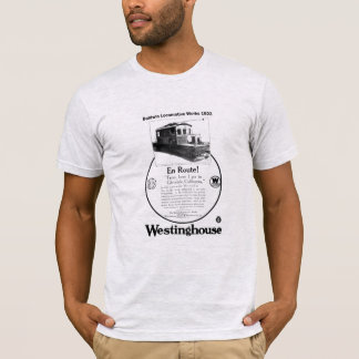 Baldwin Westinghouse機関車の1923年のTシャツ Tシャツ