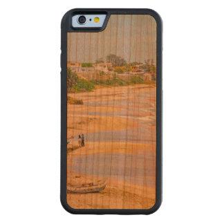 Ballenitaのビーチサンタエレナエクアドル CarvedチェリーiPhone 6バンパーケース