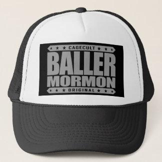 BALLERのモルモン教徒-近代の聖者教会ギャング キャップ