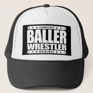 BALLERのレスリング選手-ギャングを取り組んでいる私はフリースタイルです キャップ