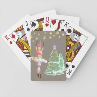 Ballerina New Year Classic Playing Cards トランプ