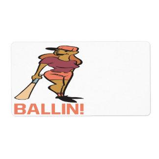 Ballin ラベル