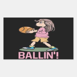 Ballin 長方形シール