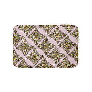 Balloon mandala bath mat cute bohemian pattern バスマット