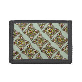 Balloon mandala wallet.cute bohemian pattern