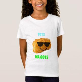 BAMのワイシャツによる幼児MA GOTS Tシャツ