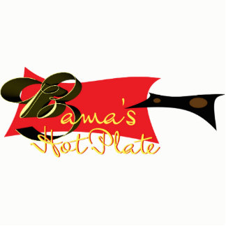 Bamaの熱いプレート フォトスカルプチャー