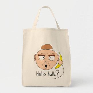 """""""Bananaphone""""のキャンバスのバッグ(ライト) トートバッグ"""