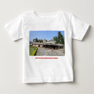 banavasiのカルナータカ州インドのツーリストの場所の写真のワイシャツ ベビーTシャツ