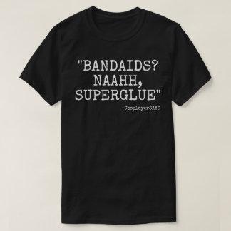 BANDAIDSか。 NAHすごい接着剤のTシャツ Tシャツ