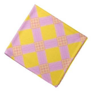 Bandana Jimette Design rose jaune orange バンダナ