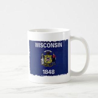 Bandeira deウィスコンシン コーヒーマグカップ