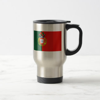 Bandeira Portuguesa Classicaのpor Fás deポルトガル トラベルマグ