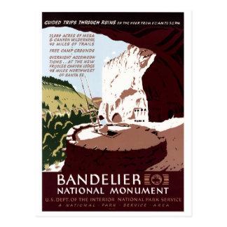 Bandelierの国有記念物 ポストカード