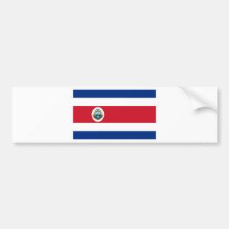 Bandera deコスタリカ-コスタリカの旗 バンパーステッカー