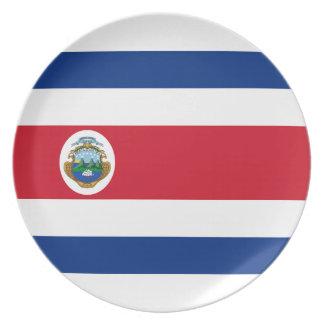 Bandera deコスタリカ-コスタリカの旗 プレート