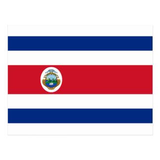 Bandera deコスタリカ-コスタリカの旗 ポストカード