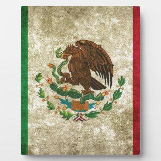 Bandera de Mexicoo -メキシコの旗 フォトプラーク
