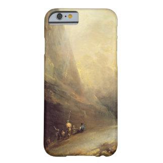Banditti、c.1780 (cの山の景色の油 barely there iPhone 6 ケース