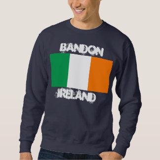 Bandon、アイルランドの旗が付いているアイルランド スウェットシャツ