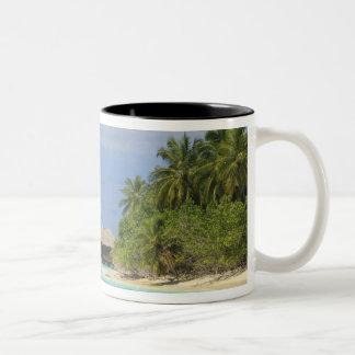 Bandosのアイランドリゾート、北の男性の環礁 ツートーンマグカップ