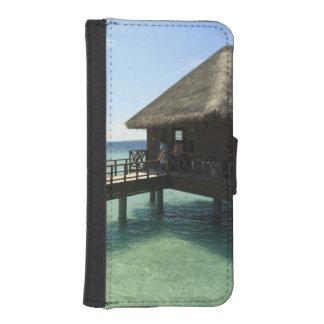 Bandosのアイランドリゾート、北の男性の環礁、2 iPhoneSE/5/5sウォレットケース