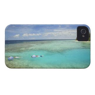 Bandosのアイランドリゾート、北の男性の環礁 Case-Mate iPhone 4 ケース