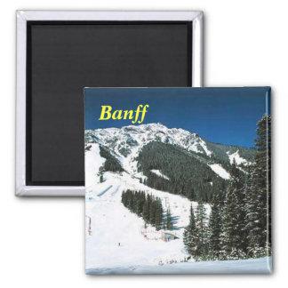 banffのスキー磁石 マグネット