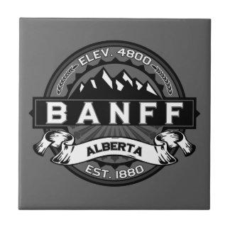 Banffのロゴのタイル タイル