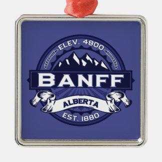 Banffのロゴの真夜中 メタルオーナメント