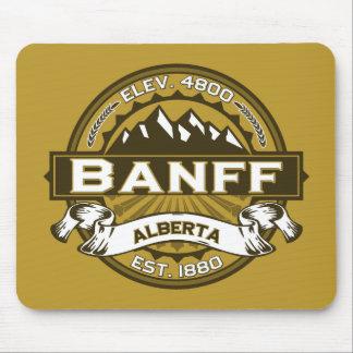 Banffのロゴタン マウスパッド