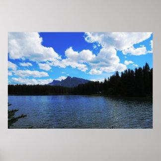 Banffの景色ポスター ポスター