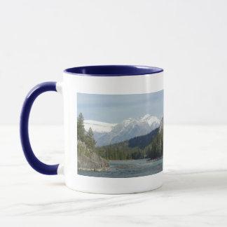 Banffアルバータカナダ マグカップ