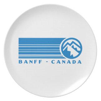 Banffカナダ プレート
