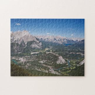 Banff、アルバータのパズル ジグソーパズル