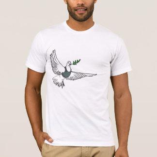 Banksyの   平和はあなたとワイシャツです tシャツ