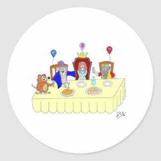Banquet王女の ラウンドシール