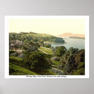 Bantry湾、コルク、アイルランドの19世紀なプリント ポスター