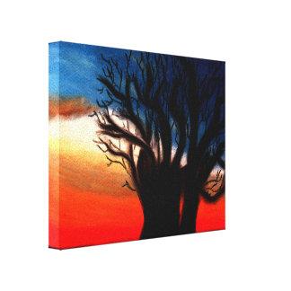 Baobab|木|絵を描くこと 張りキャンバスプリント