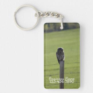 BAOWのアメリカフクロウ キーホルダー