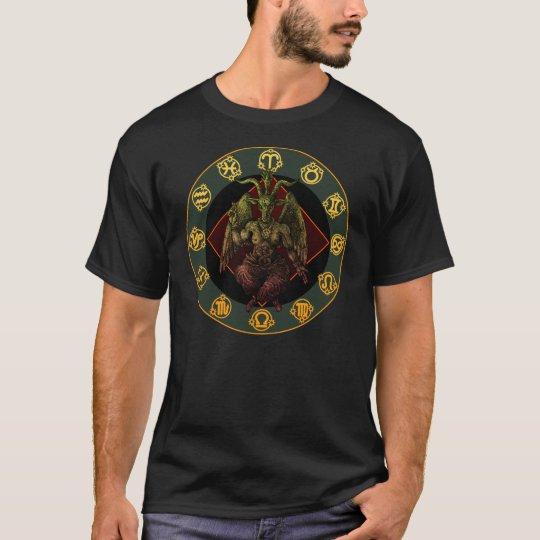 baphomet3 tシャツ