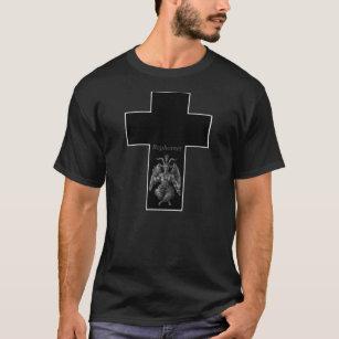 Baphomet Cross Tシャツ