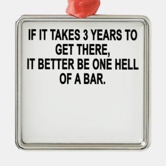 Bar.pngの1つの地獄 メタルオーナメント