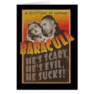 Baracula -ハッピーハローウィンバラック・オバマ カード