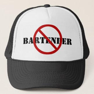 Barbackの帽子-ないバーテンダー キャップ